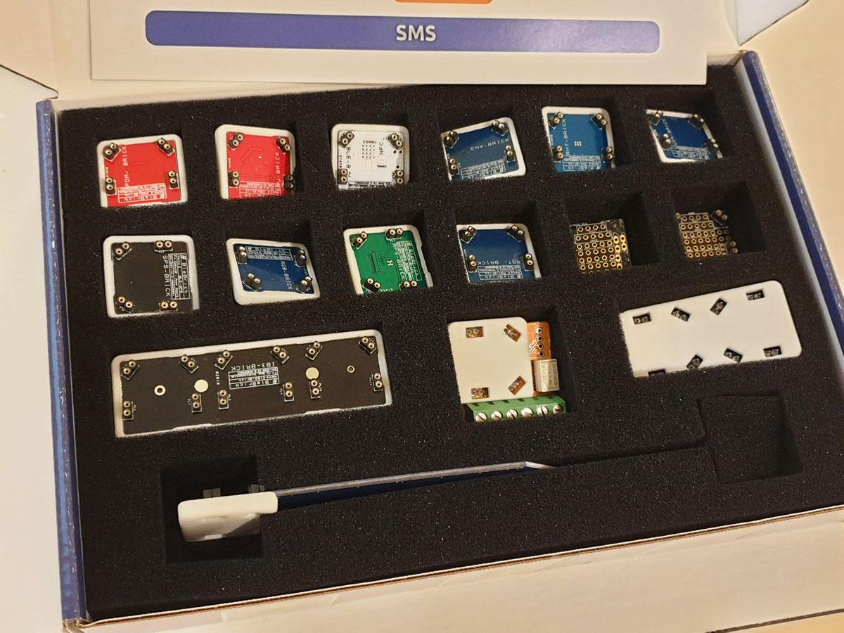Blebricks mattoncini IoT