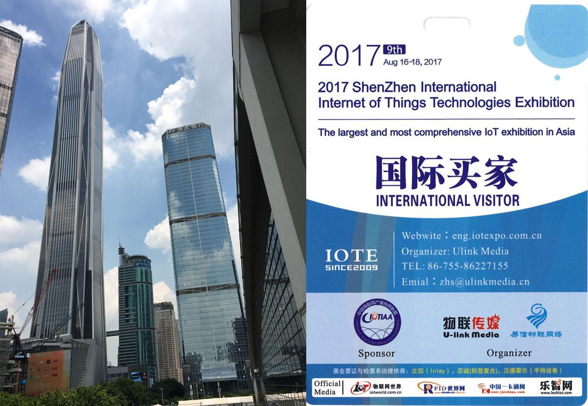 IOTE 2017 Shenzen Tenenga