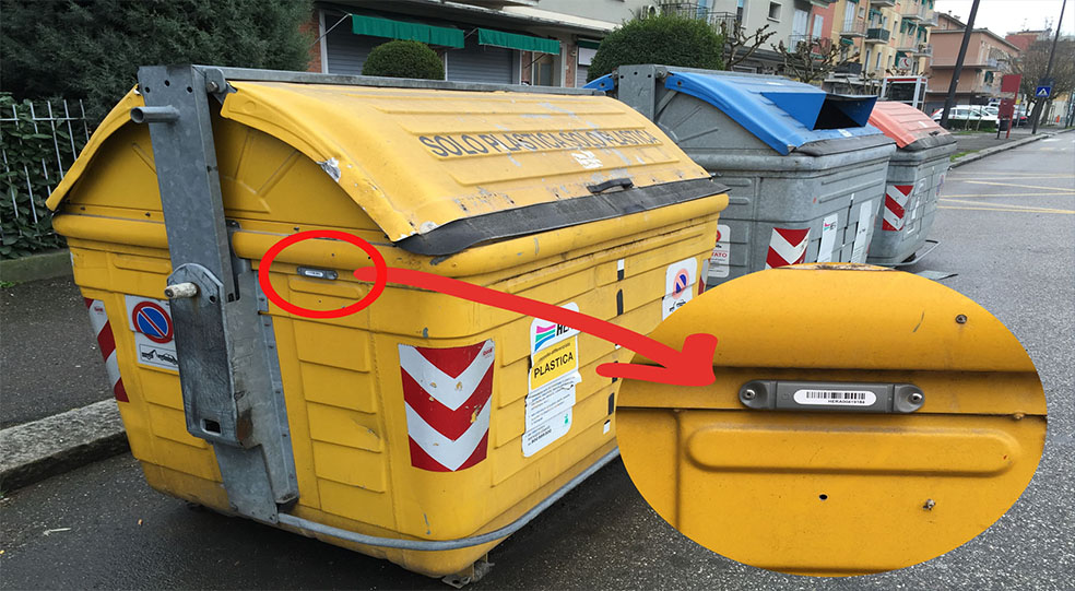 rifiuti rfid spazzatura