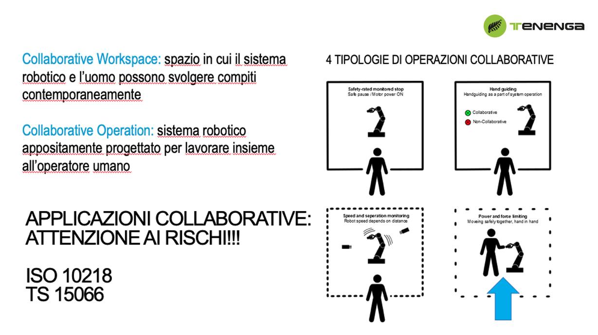 applicazioni collaborative uomini e robot