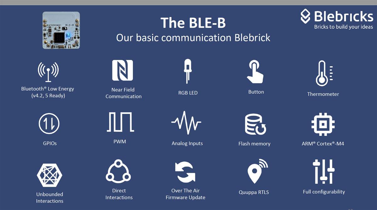 blebricks IOT
