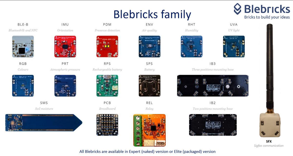 blebricks poc internet of things