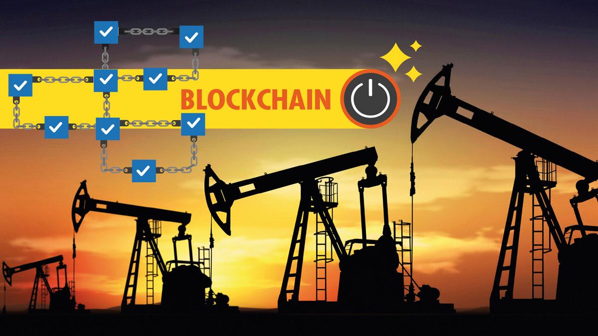 blockchain nel petrolchimico