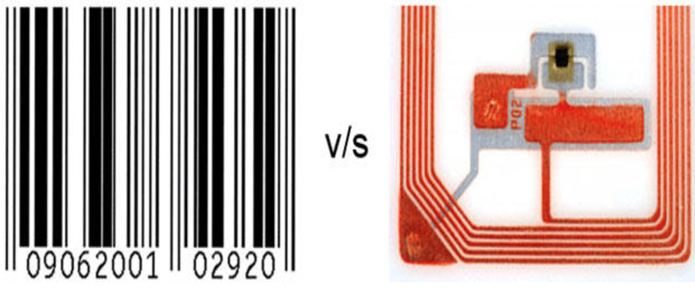 codice a barre versus rfid