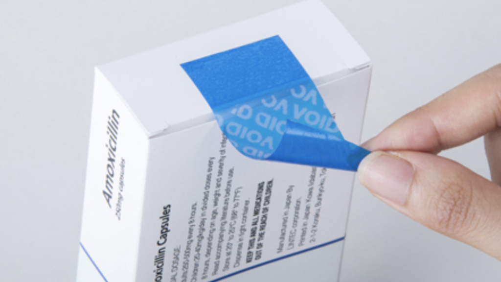 etichette anticontraffazione