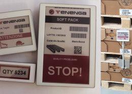 etichette elettroniche smart manufacturing