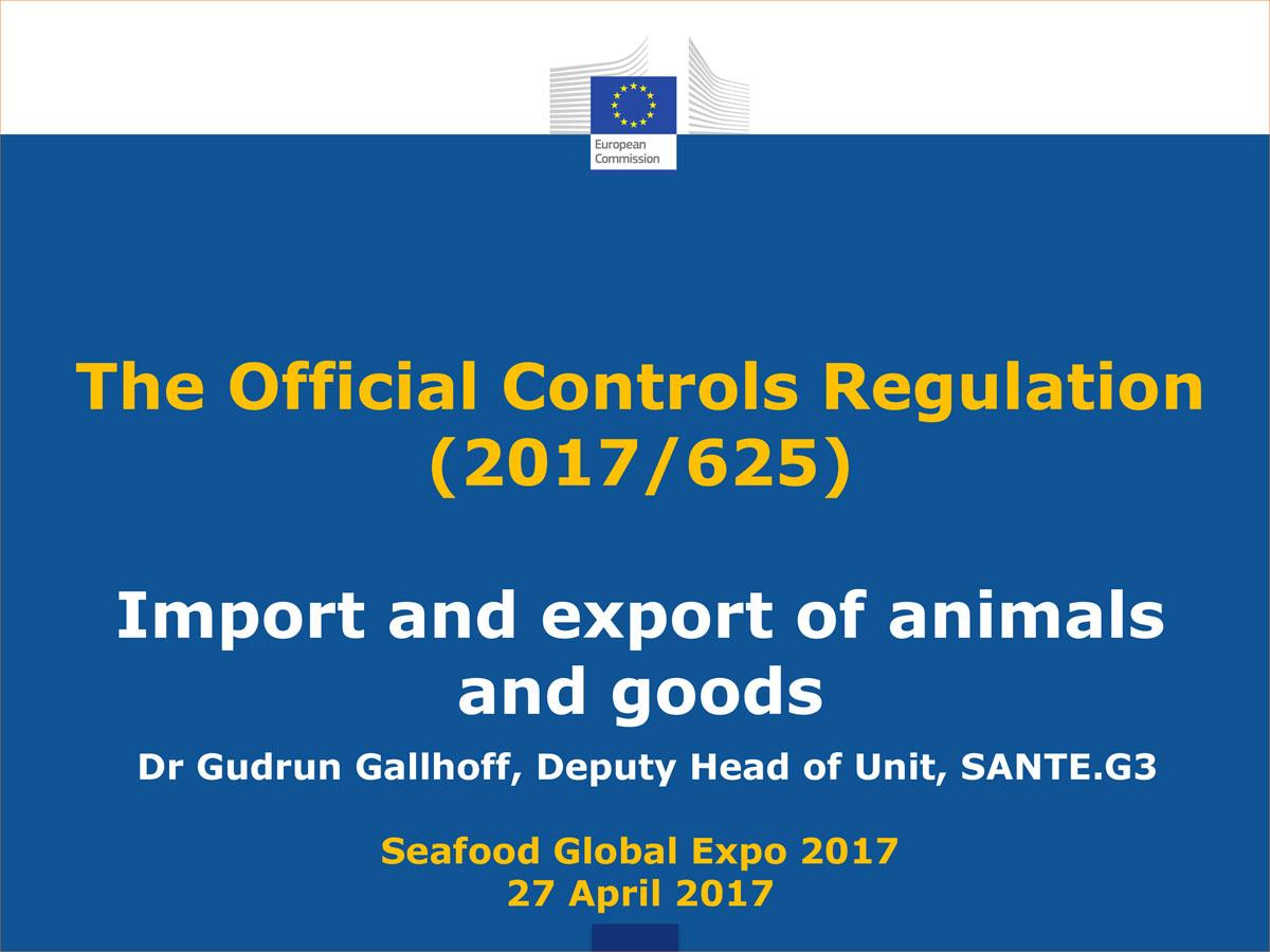 Normativa europea import export animali e beni IMSOC 2017
