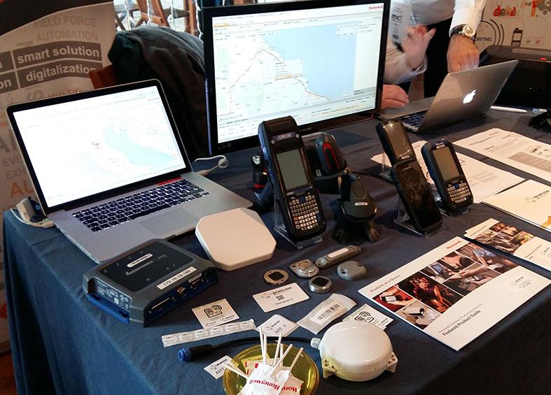 reader RFID GPS NFC Tenenga